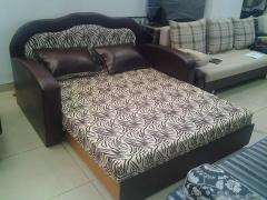 Furniture for teenagers, an ottoman the BUTTERFLY