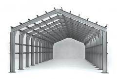 Металлический каркас зданий