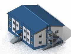 Здания панельные быстровозводимые