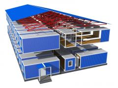 Buildings and facilities of chemical production