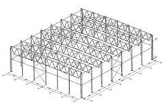 Frame of warehouse