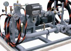 Насосно-счетная установка для перелива и учета СУГ (FAS 93070)