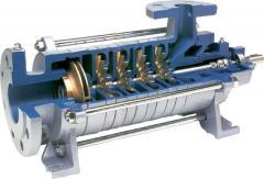 Шиберный насосный агрегат с гидравлическим приводом PN 25