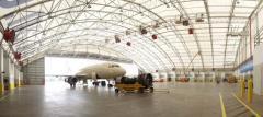 Ангар для технического обслуживания авиатехники