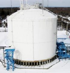 Хранилище газовое изотермическое подземное