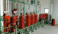 Установка рядного исполнения для заправки газовых баллонов