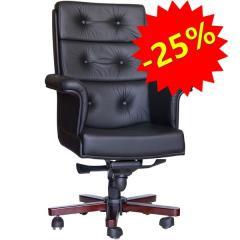 Кресло руководителя Retro Black