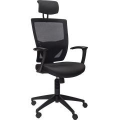 Кресло руководителя Maxx Black