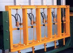 Полуавтоматический испытательный стенд FAS №23334 для гидравлических испытаний 1–5 баллонов