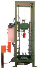 Автоматическая установка для проверки герметичности баллонов