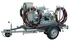 Мобильные компрессорные агрегаты