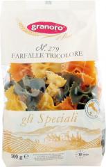 Макароны Granoro n. 279 Farfalle Tricolore