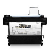 HP CQ891A HP Designjet T120 24-in ePrinter plotter