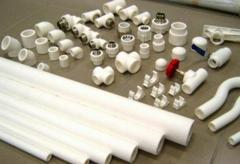 Pipes and fitting from polypropylene