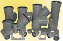 PVC fitting for the sewerage