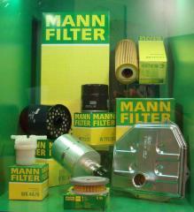 Фильтры масляные автомобильные MANN и MAHLE на все