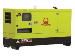Diesel-generator installation