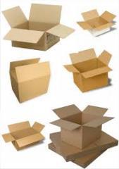 Гофроящики, коробки из двухслойного гофрокартона