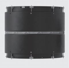 Клиновая адаптивная муфта для труб больших диаметров из ПЭ