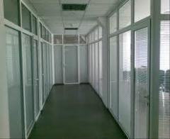 Partitions are office interroom