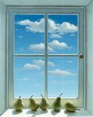 Window frames for giving