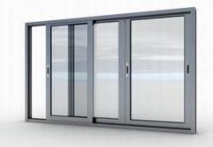 Frames are balcony, Rama window, door