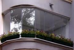 Glazing of balconies and loggias, Protection and
