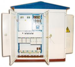 Integral transformer substation of KTP 100 of kVA