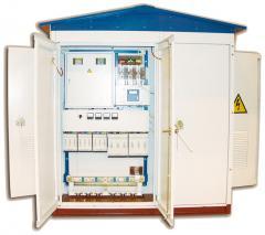 Integral transformer substation of KTP 100 of kVA
