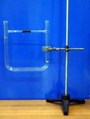 Tube for demonstration of convection in liquid