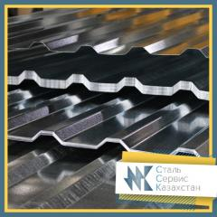 The professional flooring is galvanized, the size