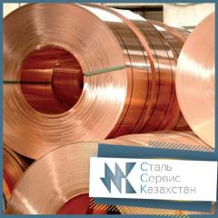 The tape is copper, the size is 0.6 mm, GOST