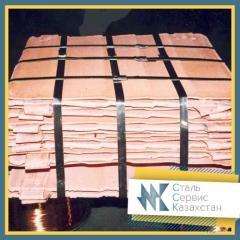 Медь катодная ГОСТ 546-2001, 859-2001, марка м0к,