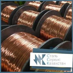 The wire copper for low-temperature thermocouples,
