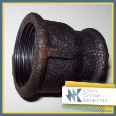 The coupling is pig-iron transitional, the size is