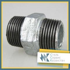 Nipple steel, size of 25 mm, GOST 8967-75,