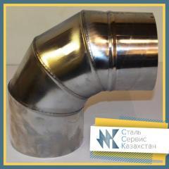 Отвод нержавеющий 15x2.5 мм Шовный, сталь