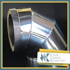 Отвод 20x2.5 мм Шовный, сталь 20