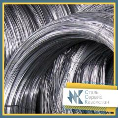 The wire is galvanized, the size of 0.18 mm, GOST