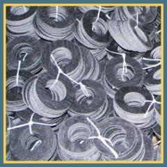 Прокладки паронитовые кольцо 125 мм