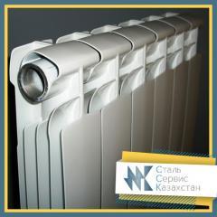 The radiator is bimetallic, the size is 350 mm, TU