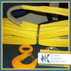Kruglopryadny slings ring (poliestrovy) KSK, the