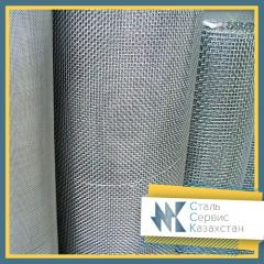 Сетка тканая 0.8x0.8x0.32 мм ГОСТ 3826-82, сталь
