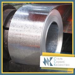 The tape is galvanized, the size of 10 mm, GOST