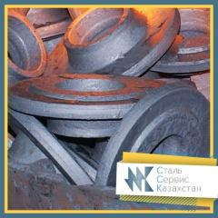 The forging, the size is 1370 mm, GOST 8479-70,