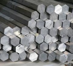 Шестигранник 4 мм ГОСТ 2879-88, сталь а12, L = 6