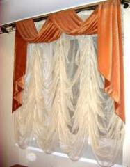 Curtains are the French