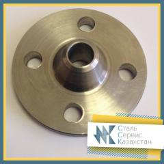 Flanges are steel vorotnikovy, the size is 100 mm,