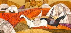 Картина, живопись на холсте, Исмамбетова Юлия