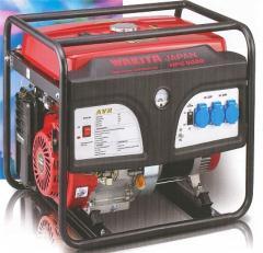 Gasoline-driven generators